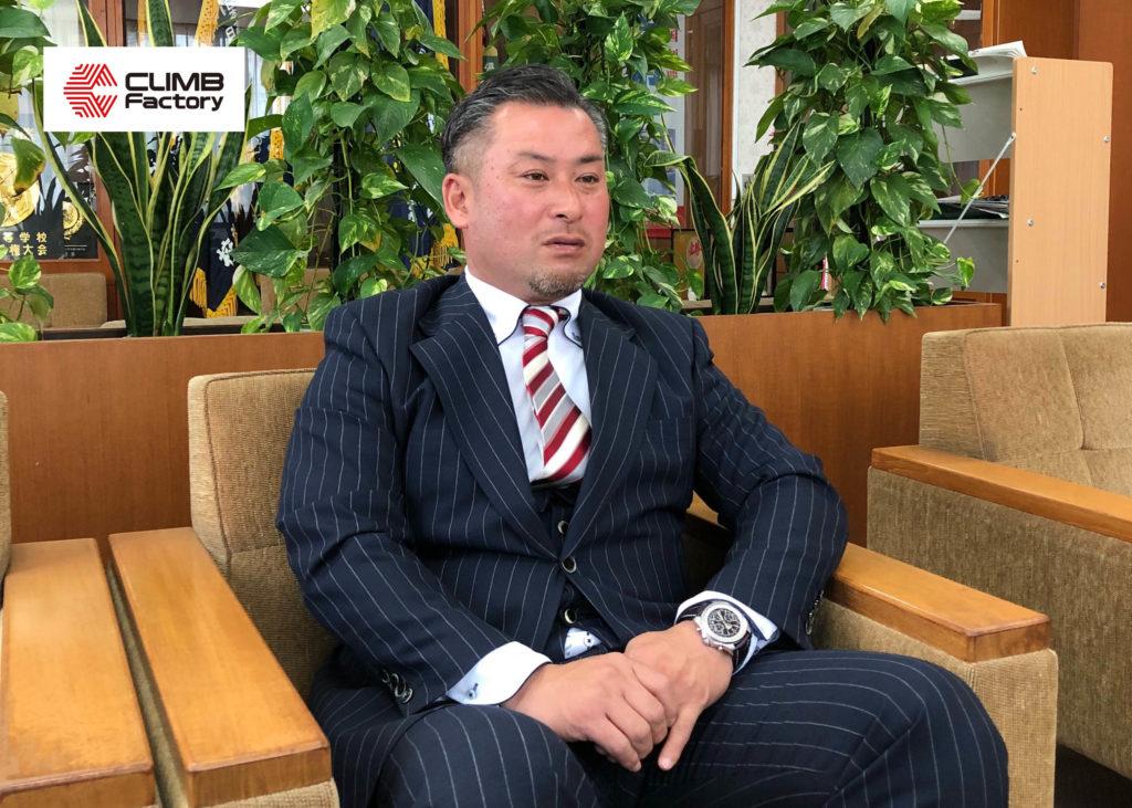桐生第一高等学校ラグビー部 進学スポーツコース岩脇正和先生