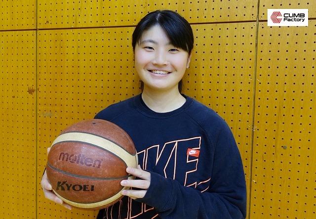 共栄大学女子バスケットボール部 便志保キャプテン