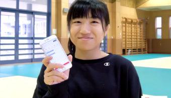 淑徳大学女子柔道部 濵名凪選手