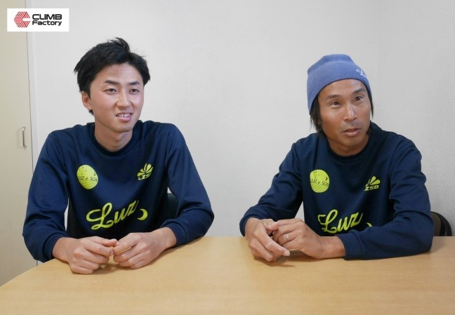 松尾泰介さん、末本亮太さん写真