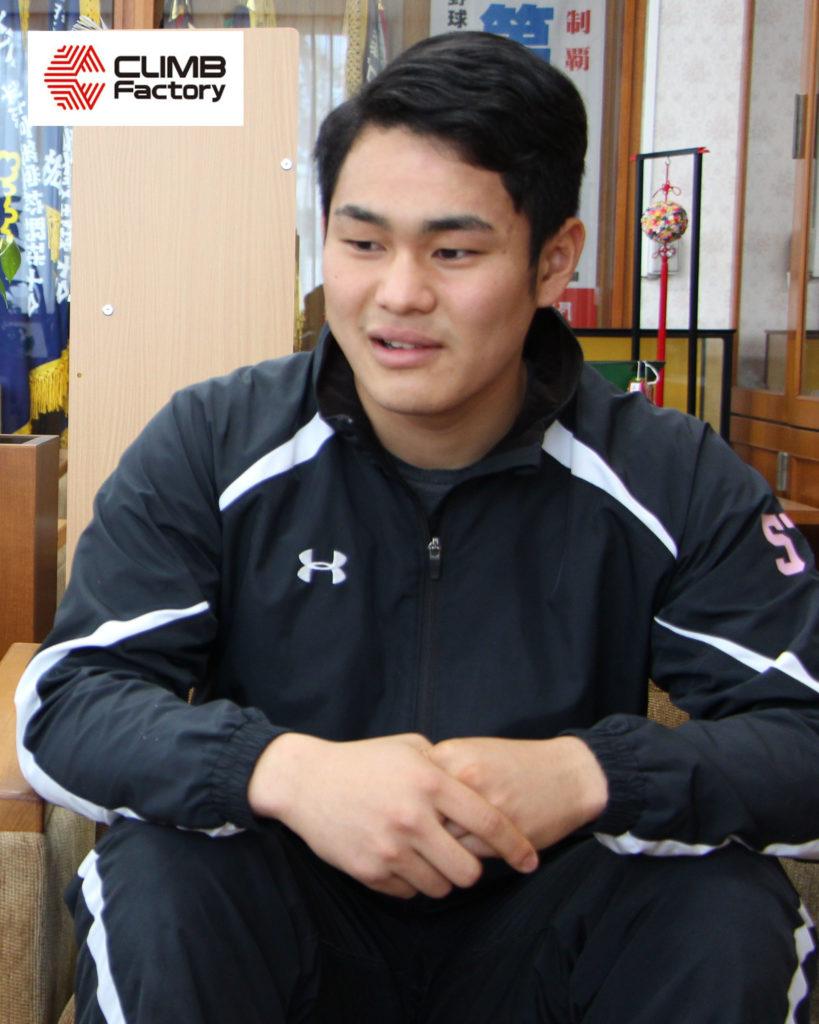 桐生第一高校ラグビー部齋藤選手