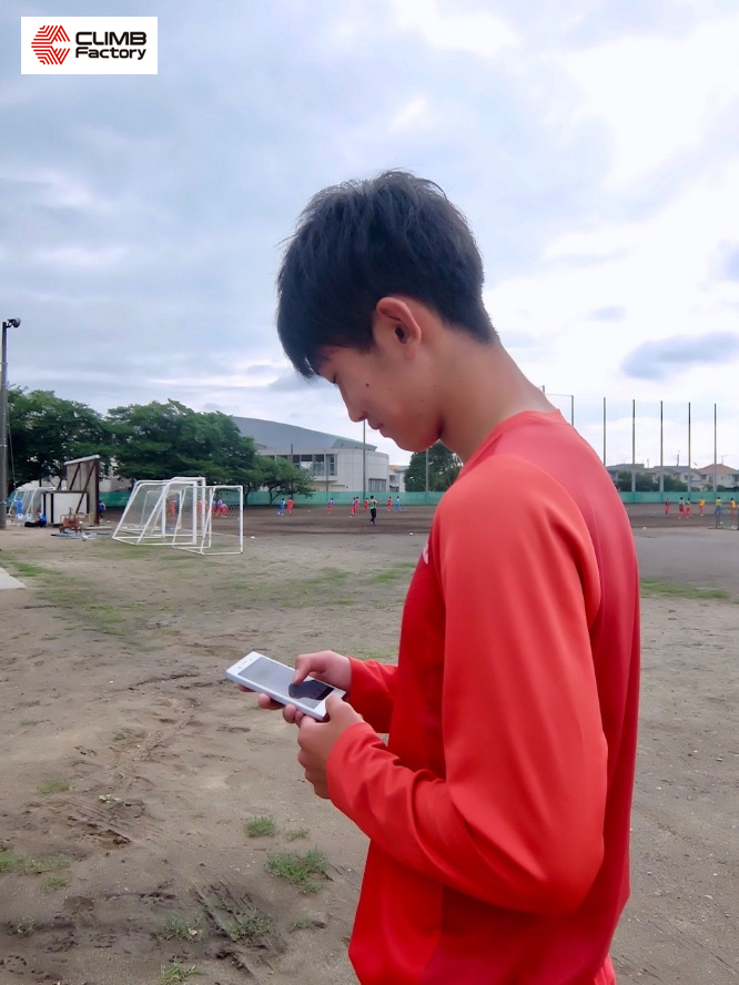 茨城県立水戸商業高等学校サッカー部大槻海偉選手