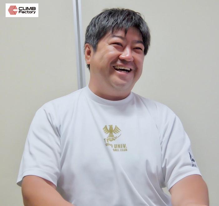 平塚学園高等学校ラグビー部顧問・薄井 雄一郎氏